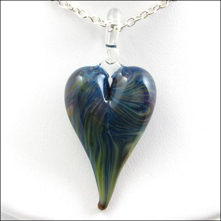 Blue Aqua Heart